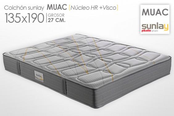 Colchón MUAC Sunlay (Pikolin) 135x190