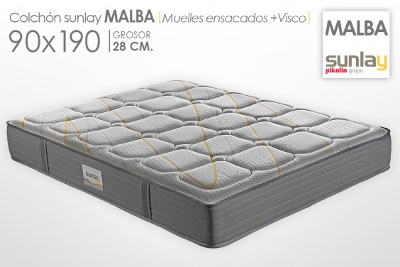 Colchón MALBA Sunlay (Pikolin) 90x190