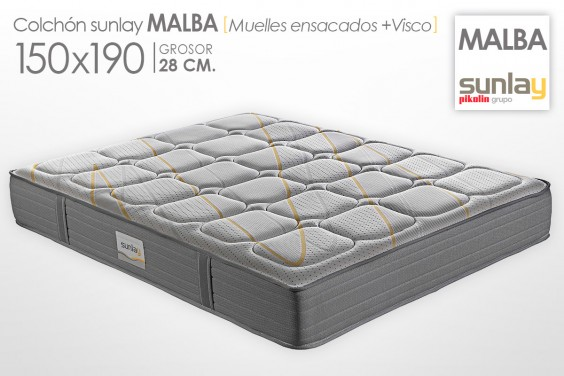 Colchón MALBA Sunlay (Pikolin) 150x190