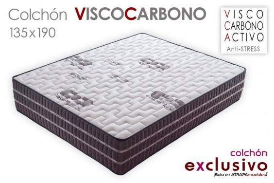 Colchón VISCO CARBONO 135x190