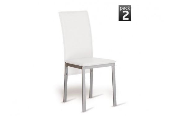 2 sillas salón SIMA Blanco 29€/u