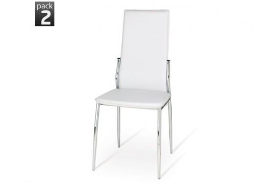 2 sillas salón SEI Blanco 33€/u