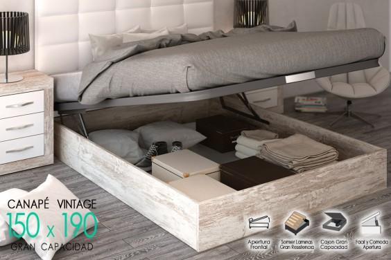 Canape JORDAN 150x190 BASIC Vintage