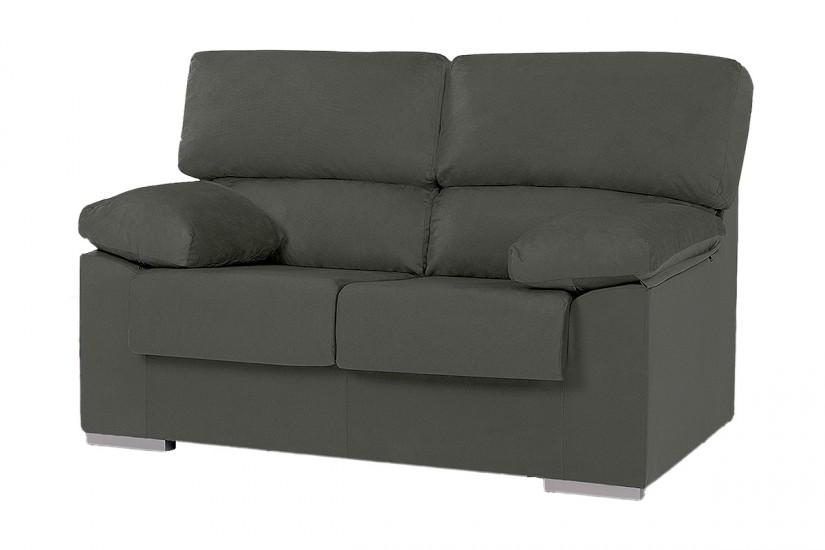 sof 2 plazas ruben melisa gris marengo al mejor precio. Black Bedroom Furniture Sets. Home Design Ideas