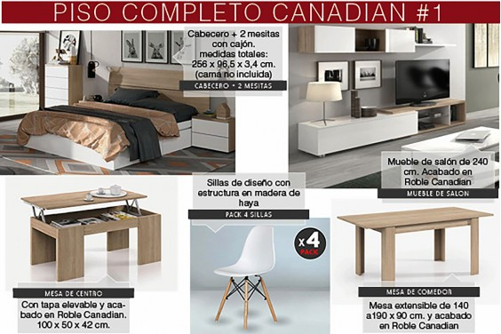 Piso completo modelo 1 - CANADIAN