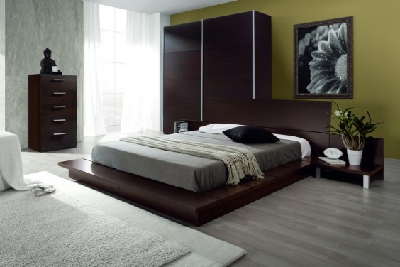 Dormitorio matrimonio STYLUS wengue