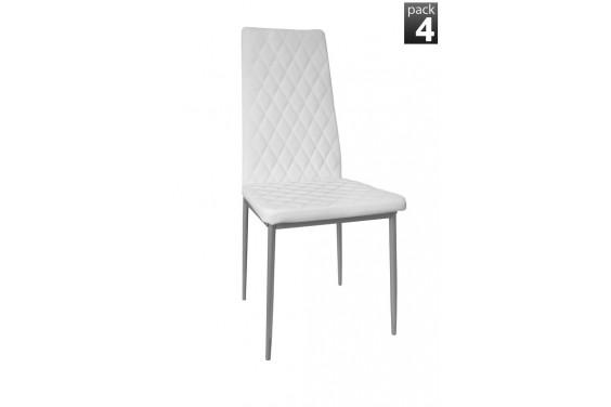4 sillas SABIKA Blanco (27€ /u.)