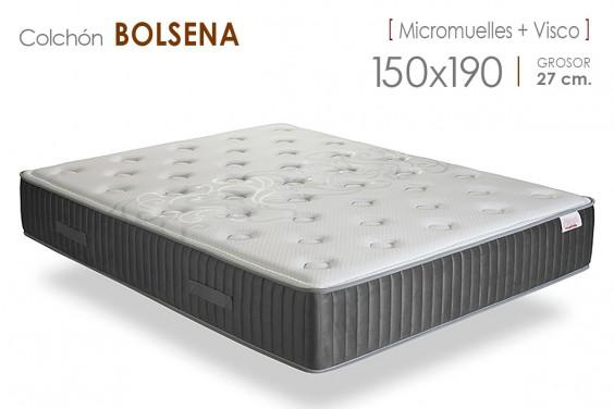 Colchón BOLSENA Micromuelles 150x190