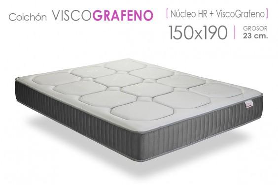 Colchón VISCO GRAFENO Prime 150x190