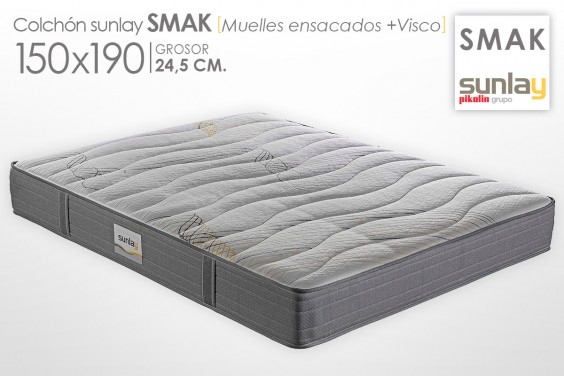 Colchón SMAK Sunlay (Pikolin) 150x190