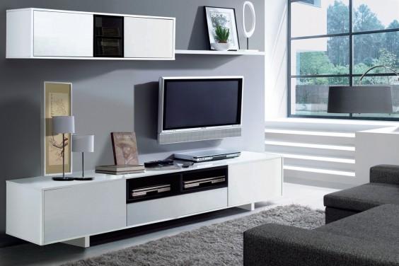 Muebles de salon baratos muebles de salon muebles - Mueble de salon moderno ...