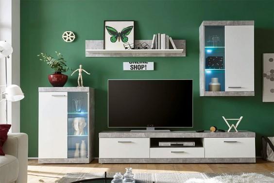 Mueble de salón KETLIN LEDs