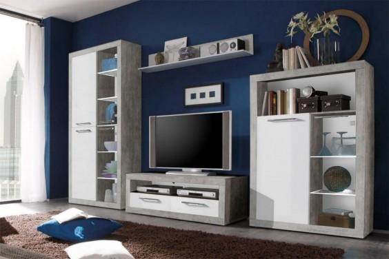 Mueble de salón STONE LEDs