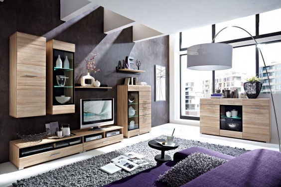 Mueble de salón VUSHER LEDs