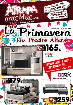 Catalogo Muebles Abril 2018