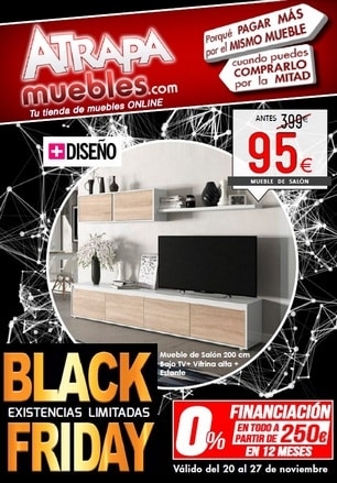 Catalogo Muebles Black Friday 2017